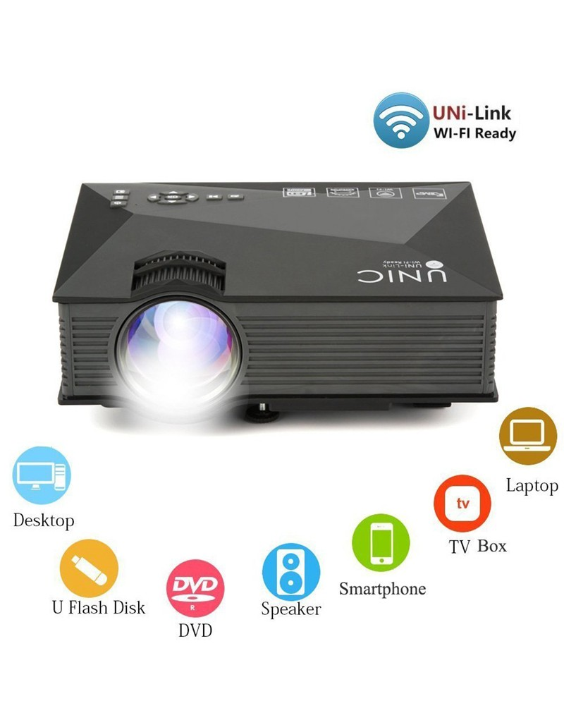 Video Projecteur Portable WIFI LED Full HD 1200 Lumens a5ea22c53802
